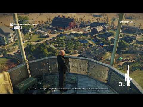 HITMAN Patient Zero Episode The Vector (Sniper)
