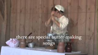 Making butter the traditional way