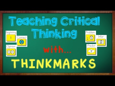 Teaching Critical Thinking to Kindergartners!