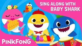 The Shark Band   Sing Along with Baby Shark   Pinkfong Songs for Children
