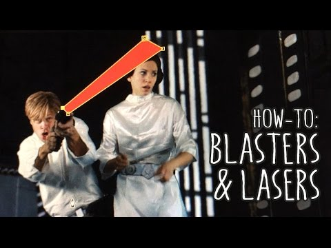 Star Wars Blasters & Lasers in After Effects [How-To]