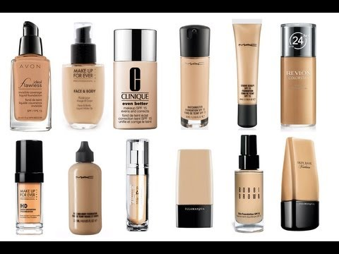 THE BEST LIQUID FOUNDATIONS - EVER!