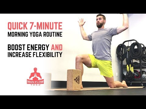 Quick 7-Minute Morning Yoga Routine- Boost Energy and Increase Flexibility