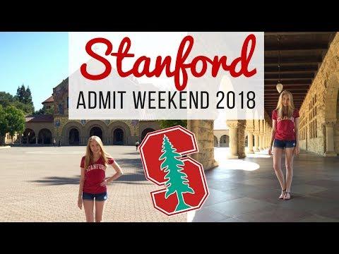Stanford Admit Weekend 2018