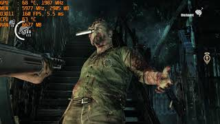 The Evil Within PC/Steam Version i7 7700K 240Hz GTX 1080 Ti PC DX11 (Chainsaw Boss) Gameplay