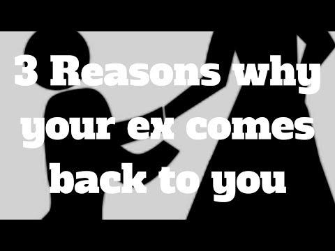 3 Reasons why your ex comes back to you