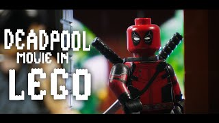 Deadpool Movie in LEGO: Deadpool Visits The X-Mansion