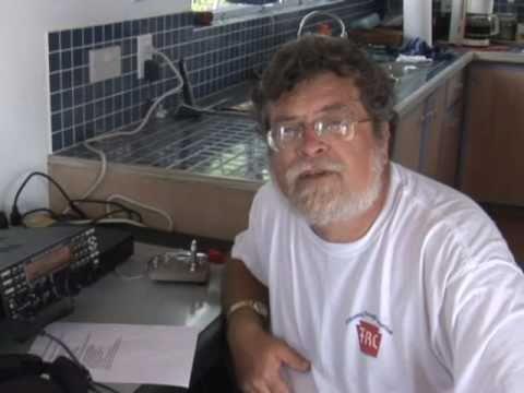 HAM Radio on Gingerbread Hill, Montserrat, West Indies
