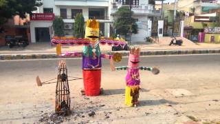 Best Raavan Dahen INDIRA NAGAR ( Dussehra) Bachpan Indira Nagar