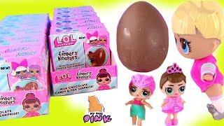 Шоколадные #ЯЙЦА с СЮРПРИЗОМ с куклами ЛОЛ! #lol Chocolate  Surprise Eggs | Мультик с Май Тойс Пинк
