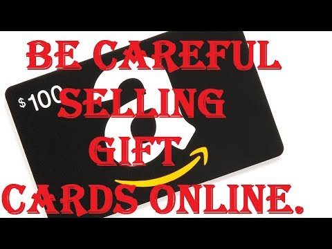 The New eBay / Online Gift Card Scam. If You're Selling..Do NOT do This - 2018