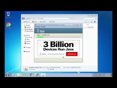 Installing JDK Windows 7 - 03 - Installing JDK and JRE
