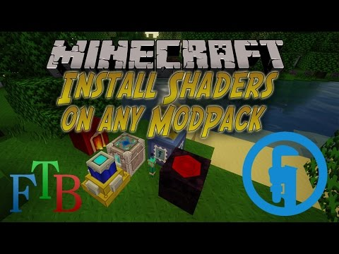 How to Install shaders on any modpack | Tekkit Legends & more