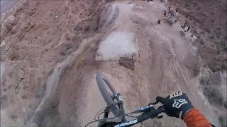 Sam Reynolds Redbull Rampage Best Trick 2015 Run