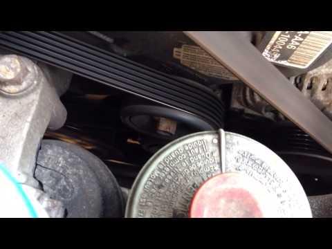 Acura TL Bad Belt Tensioner