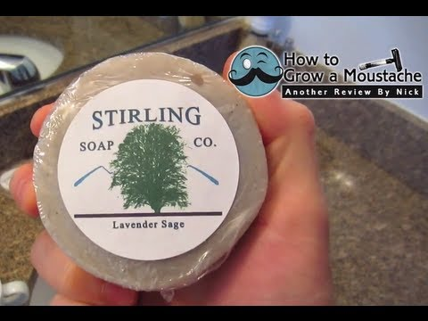 Stirling Shaving Soap - Lather Review