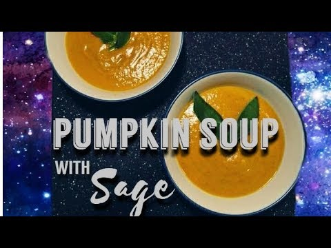 Easy PUMPKIN SOUP with SAGE | Humainely Vegan