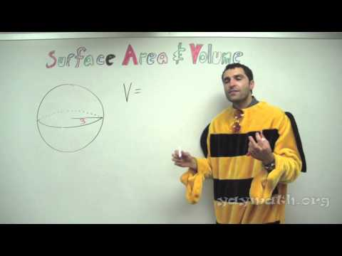 Geometry – Surface Area and Volume of Spheres