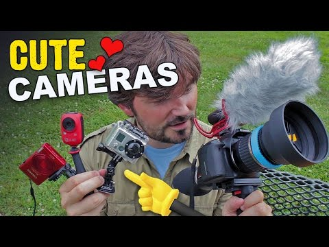 Get YOUR SHOT! with Cute Cameras! Vlogging Trick - Knoptop