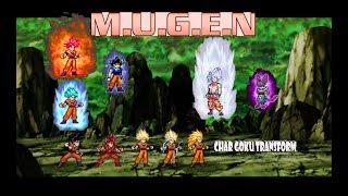 Goku mugen JUS transform Videos - votube net