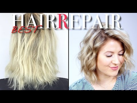 HOW TO REPAIR DRY DAMAGED HAIR | Milabu