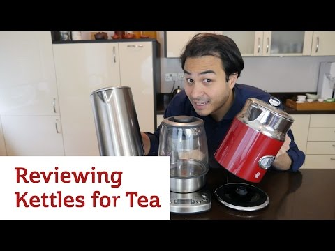 Reviewing Kettles for Tea