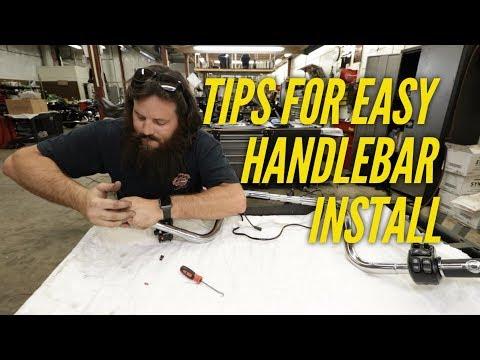 HD 2017 Street Glide Handlebar Install PART 2