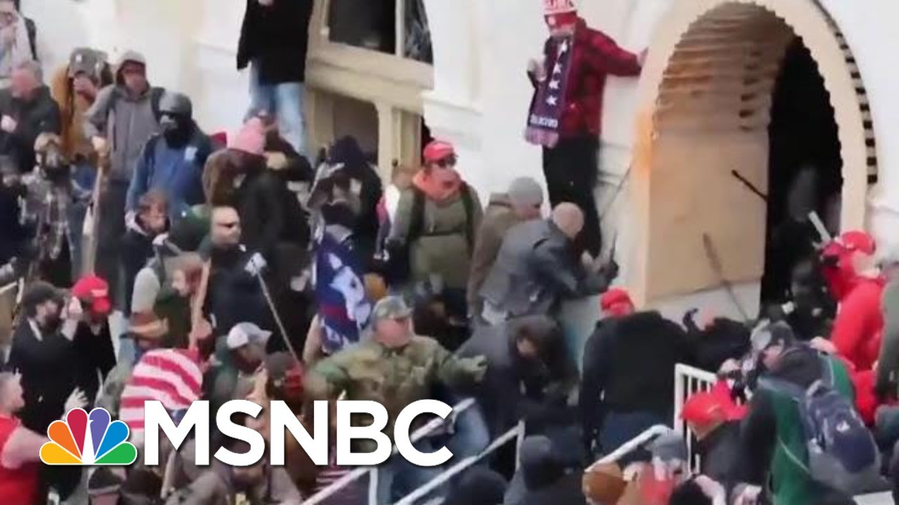 FBI Memo Warns Of Threats Of Possible Armed Protests At 50 State Capitols | MTP Daily | MSNBC