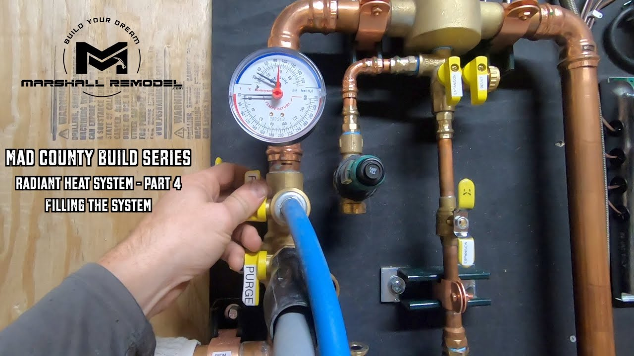Radiant Heat Install   Part 4 of 5