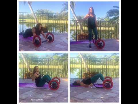 Pilates Wheel Circuit  Workout With Laura London Fitness