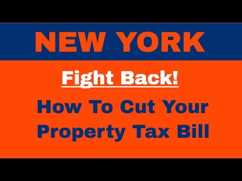 How to Cut Your Property Tax In New York