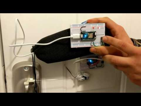 Remote Control Automatic Door Lock