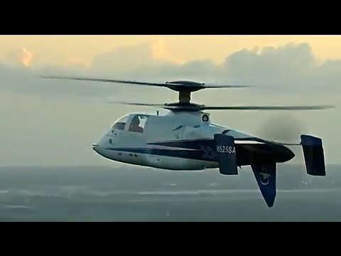 Sikorsky X2 World's Fastest Helicopter Cool Commercial Carjam TV HD 2013