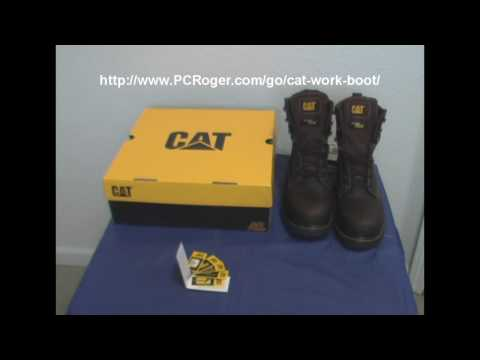 Caterpillar Work Boots - Get The Right Size Steel Toe Work Boot At Amazon