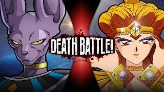 Beerus VS Sailor Galaxia (Dragon Ball VS Sailor Moon)   DEATH BATTLE!
