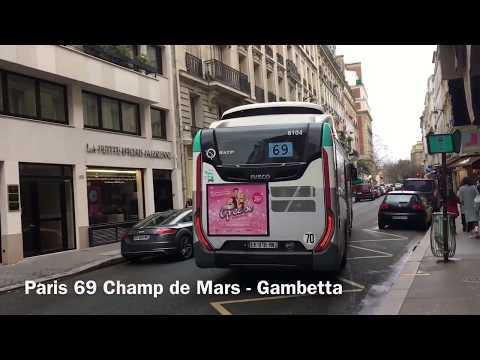Paris Bus 2018
