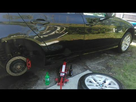 Diy Brake Caliper Painting BMW E90