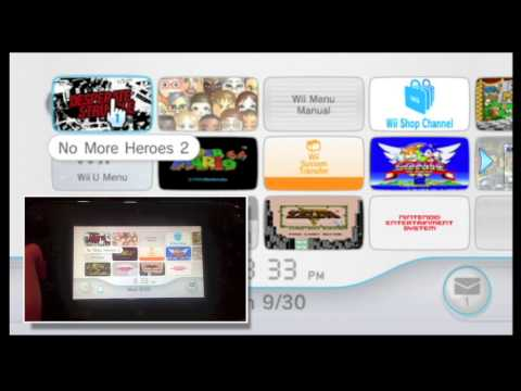 How to Play Wii Games On Your Wii U Gamepad
