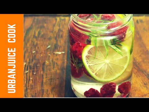 Fruit and Vegetable  Infused Water
