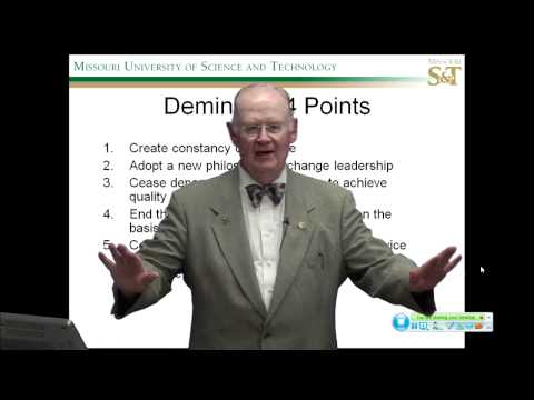Total Quality Management - Deming Way (Part 1/2)