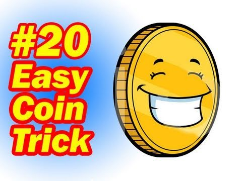 Easy Coin Trick - Simple Magic For Children - How To Do Magic Tricks With Coins