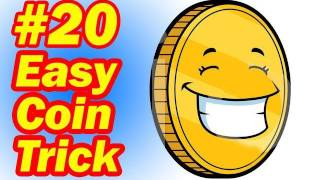 Download Easy Coin Trick - Simple Magic For Children - How To Do Magic Tricks With Coins Video