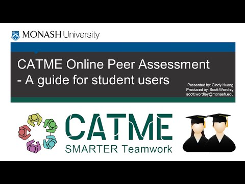CATME Online Peer Assessment - A guide for Student Users