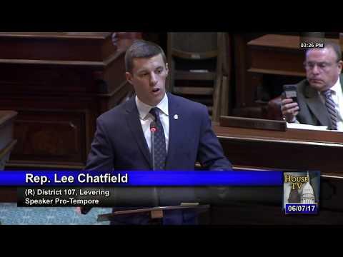 Chatfield speaks to bills protecting 2nd Amendment rights in Michigan