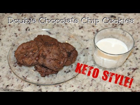 Double Chocolate Chip KETO COOKIES! ONLY 4 NET CARBS!