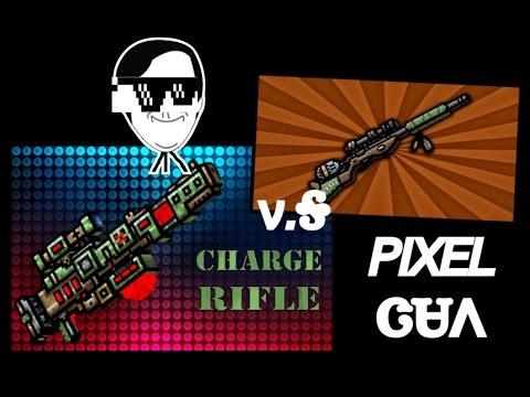 PG3D charge rifleV.S.poison hunter!