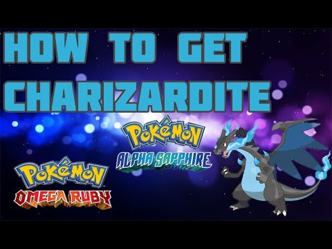 How to Get Charizard X/Y in ORAS - Mega Stone Location Guide