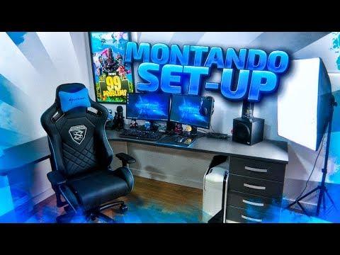 MONTANDO mi NUEVO SET UP-GAMING DESDE EL PRINCIPIO!!