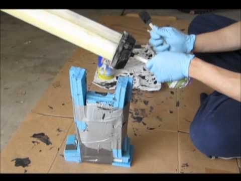 Tutorial on Creating a Foam Gladius: Fun With Plastidip Part 4 of 5