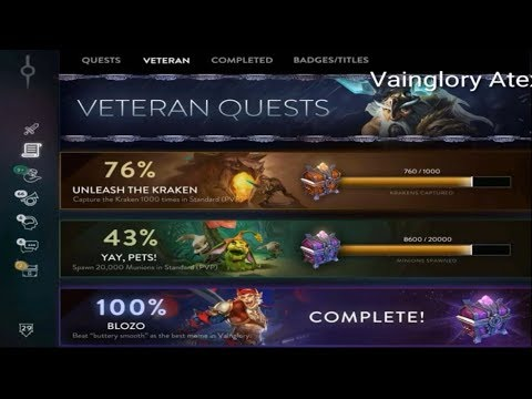| Vainglory | NEW QUEST AND DAILY CHALLENGES LEAKED!!